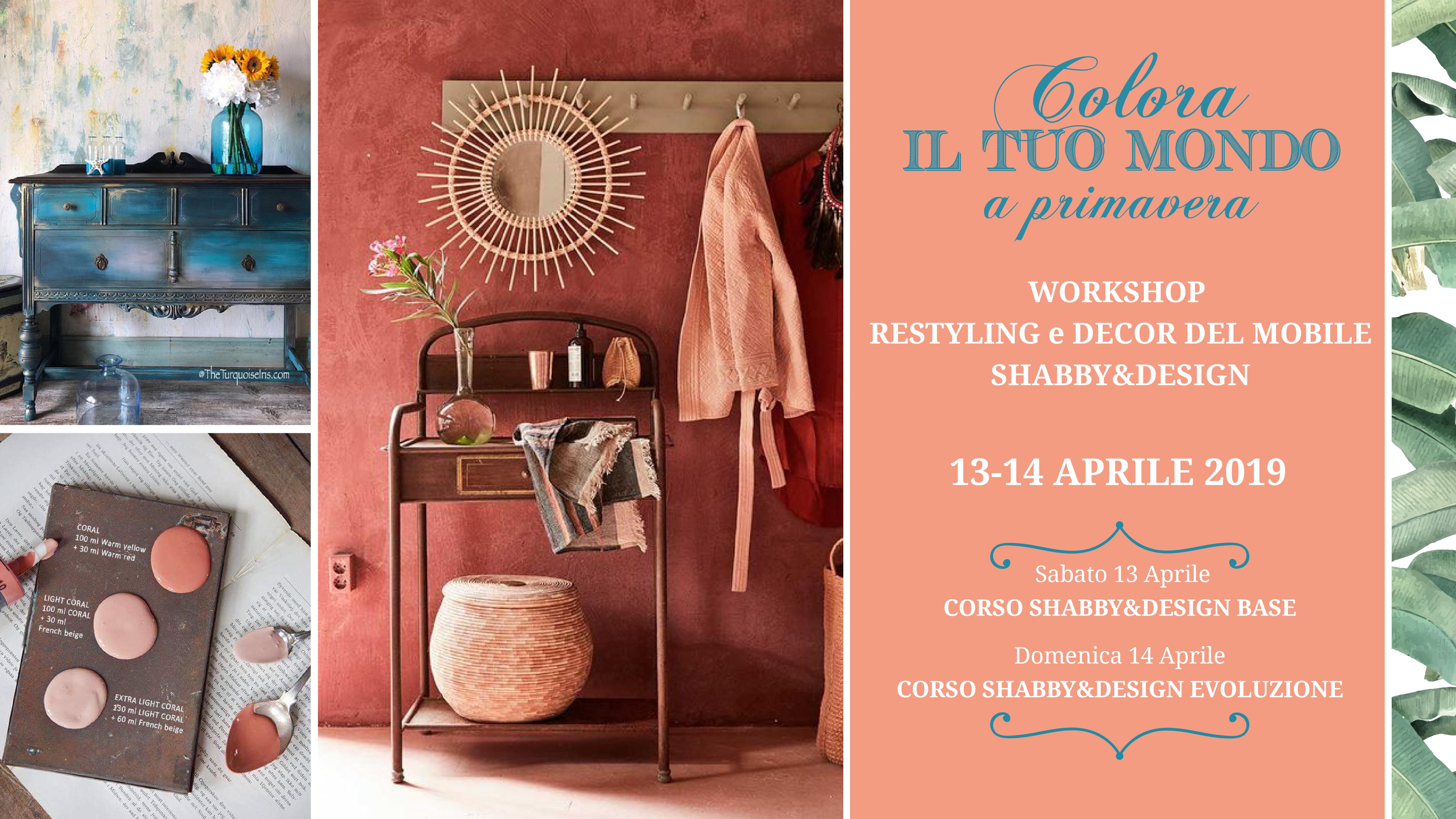 13 e 14 Aprile 2018 – WorkShop